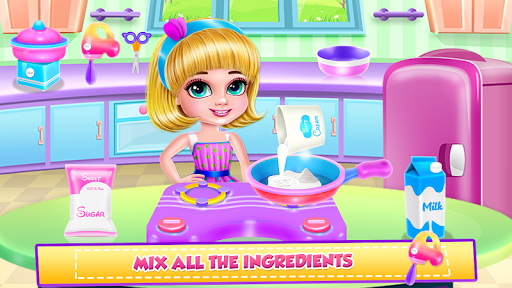 Ice Cream Donuts Cooking screenshot 3