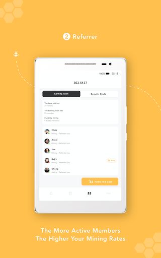 Bee Network:Phone-based Digital Currency screenshot 9