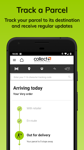 CollectPlus Delivered by Yodel screenshot 4