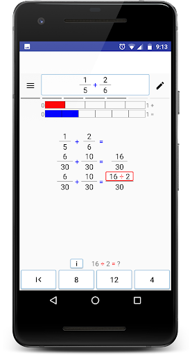Math (Fractions) Step By Step screenshot 7