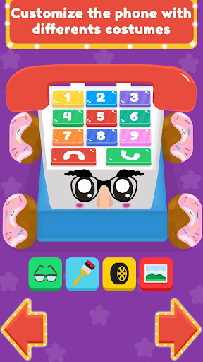 Baby Carphone Toy. Kids game screenshot 5