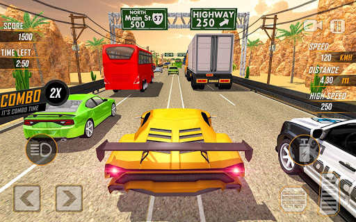 Racing in Highway Car 2018 screenshot 10
