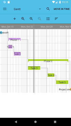 Project Schedule Free screenshot 2