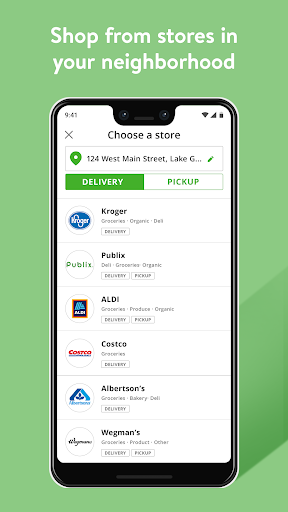 Instacart screenshot 2