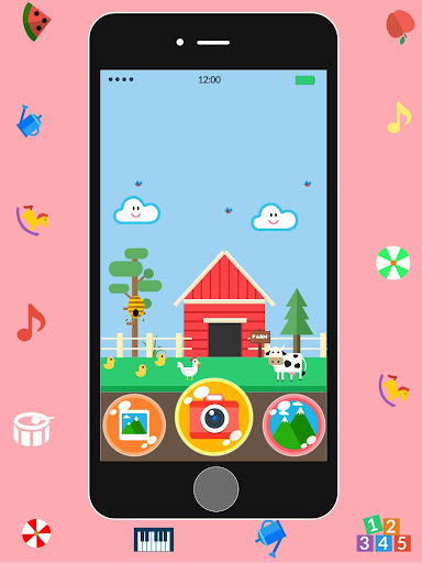 Baby Real Phone. Kids Game screenshot 12