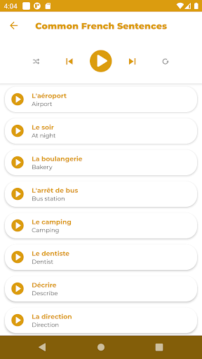 Learn French - Listening and Speaking screenshot 2