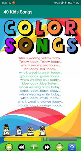 kids song - best offline nursery rhymes screenshot 5