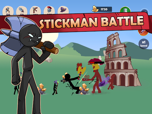 Stickman War Legend of Stick screenshot 14