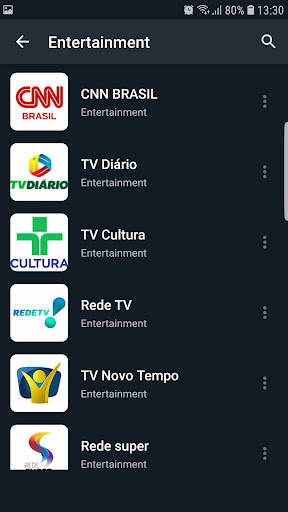 Brasil TV ao vivo no celular screenshot 8