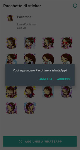 Pacottine - Stickers screenshot 2