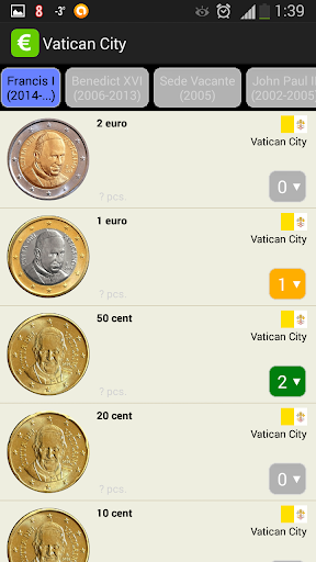 EURik: Euro coins screenshot 5