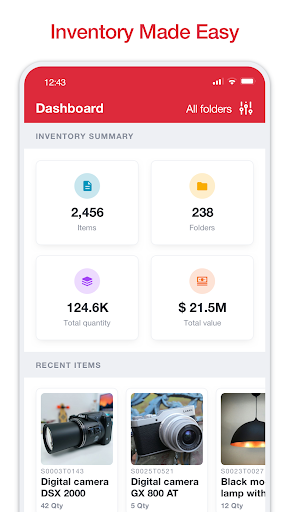 Sortly: Inventory Simplified screenshot 1