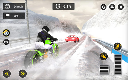 Snow Mountain Bike Racing 2019 screenshot 5