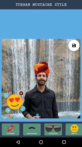Rajasthani Saafa Turban Photo Editor screenshot 2