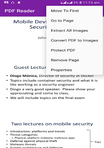PDF File Reader screenshot 3