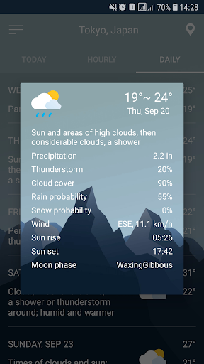 Weather Forecast screenshot 19