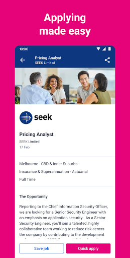 SEEK Job Search screenshot 2