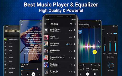 Music Player for Android-Audio screenshot 1