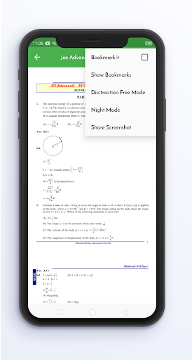 14 Years JEE Advanced Solved Papers Offline screenshot 7
