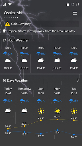 Weather - Accurate Weather Forecast screenshot 7