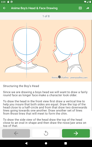How to draw anime step by step screenshot 10