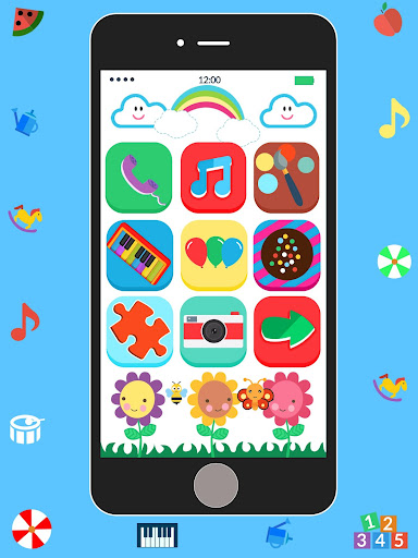 Baby Real Phone. Kids Game screenshot 14