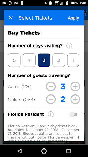 Universal Orlando Resort™ The Official App screenshot 5