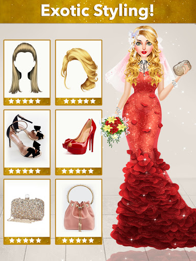 Fashion Wedding Dress Up Designer screenshot 15