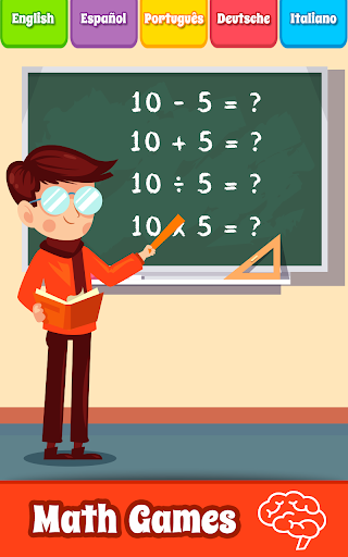 Math Games, Learn Add, Subtract, Multiply & Divide screenshot 1