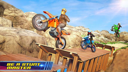 Motocross Dirt Bike Stunt Racing Offroad Bike Game screenshot 3