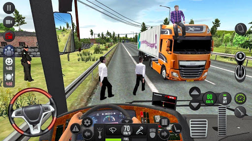 Coach Bus Racing Simulator 2020 screenshot 2