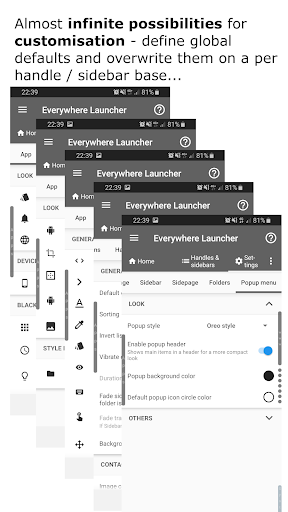 Everywhere Launcher - Sidebar Edge Launcher screenshot 6