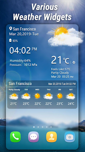 Weather App - Weather Forecast & Weather Live screenshot 2