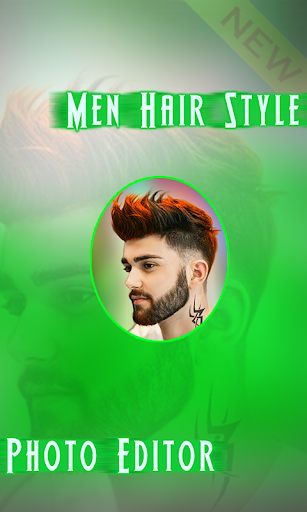 Hairstyle for Men with beard and Haircut style screenshot 1