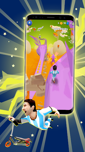 Space Scooter Game screenshot 1