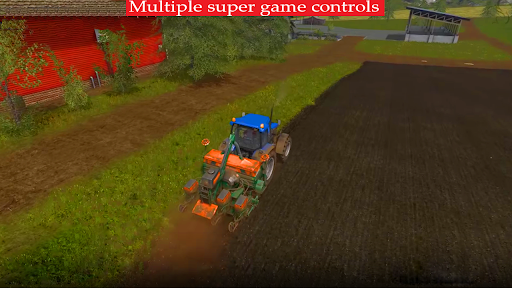 New Thresher Tractor Farming 2021-New Tractor Game screenshot 3