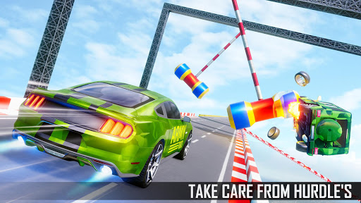 Mega Ramp Car Stunts 3D screenshot 2