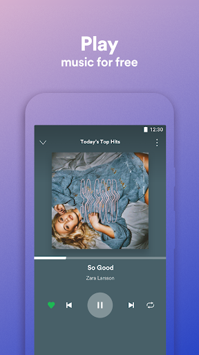Spotify Lite screenshot 1