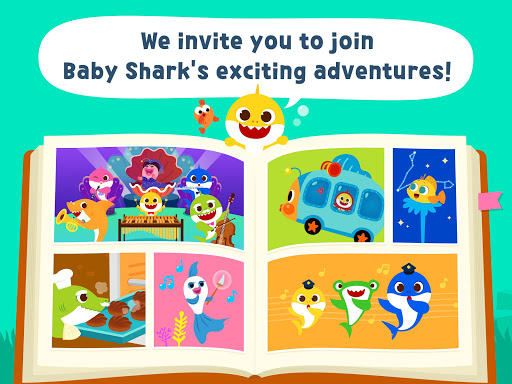 Pinkfong Baby Shark Storybook screenshot 9