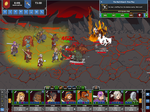 Idle Champions of the Forgotten Realms screenshot 4