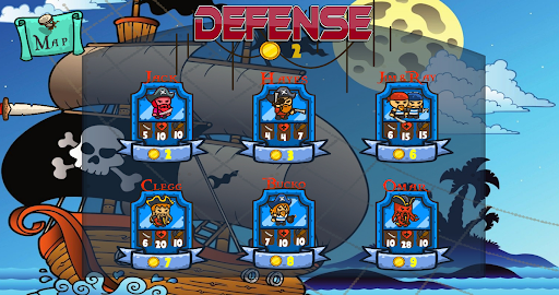 Defense Troops Pirate screenshot 2
