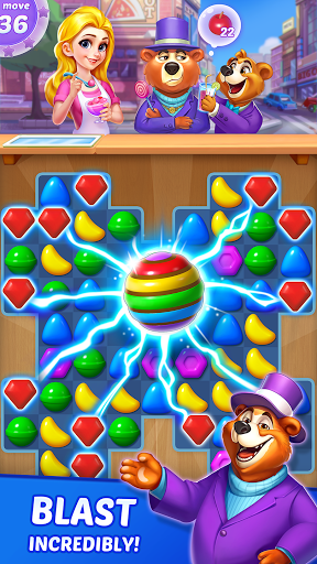 Candy Puzzlejoy screenshot 3