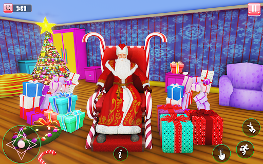 Santa Claus Christmas Fun Gift Delivery screenshot 3
