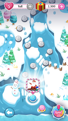 Santa's Christmas Candy Puzzle Match 3 Journey screenshot 2