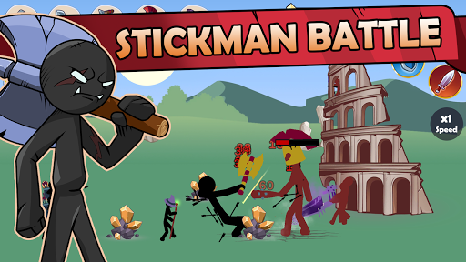 Stickman War Legend of Stick screenshot 3