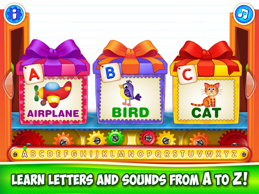 Baby ABC in box Kids alphabet games for toddlers screenshot 10