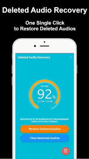 Deleted Audio Recovery screenshot 1