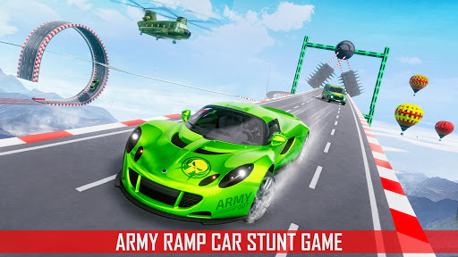 Mega Ramp Car Stunts 3D screenshot 1