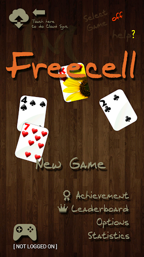 Freecell in Nature screenshot 1