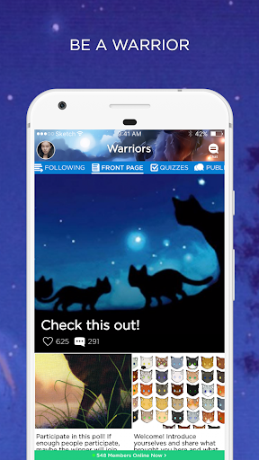 Warrior Cats Amino screenshot 1